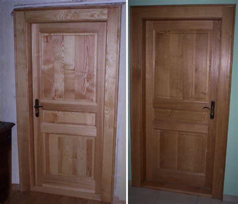 porte en bois de chambre porte interieur bois idées de décoration et de mobilier
