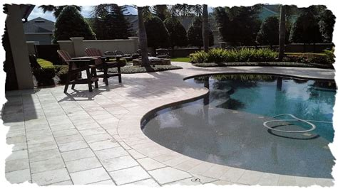 12x12 pool deck plans pool decks clay brick pavers travertine