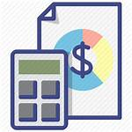 Cost Structure Icon Business Calculate Icons Canvas