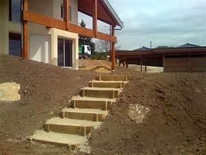 Comment Faire Des Marches Dans Un Talus : afficher l 39 image d 39 origine escaliers pinterest escaliers images et jardins ~ Melissatoandfro.com Idées de Décoration