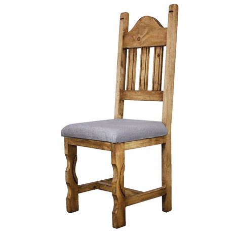 rustic pine collection pueblo chair w cushion sil29