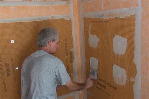 prepping shower walls  tile jlc
