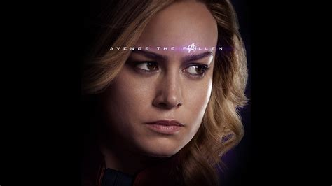 bi captain marvel endgame avengers hero film art wallpaper