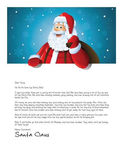 easy  letter  santa magical package letters