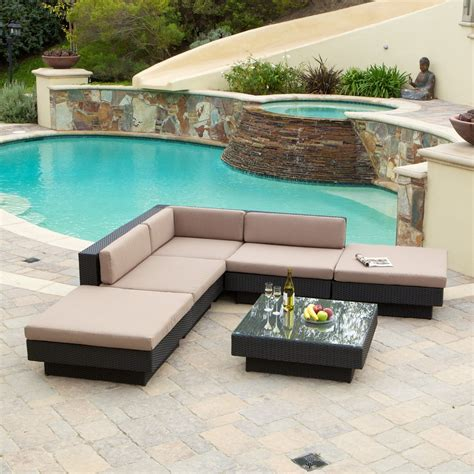 Pool And Patio Furniture 2017 all weather pool side outdoor rattan restaurant lowes