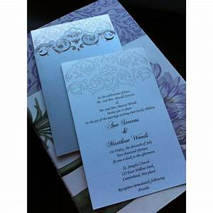 Pocket simple wedding invitation invitations for Wedding invitations jacket pocket