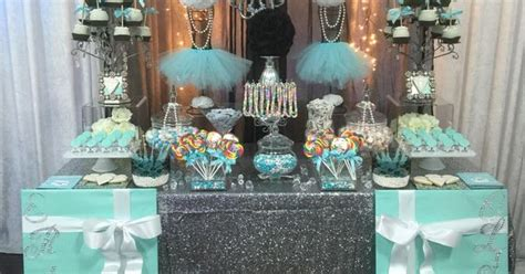 turquoise white  black  silver accents candy