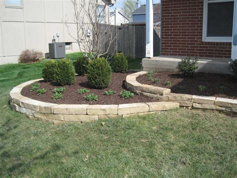 landscape retaining wall design installation