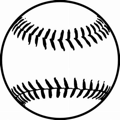 Softball Baseball Clipart Transparent Stitches Background Ball