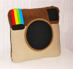 Instagram Pillow 20 Pillows to Geek Out Your Space