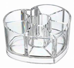 Boite De Rangement Maquillage : boite de rangement maquillage coeur ~ Teatrodelosmanantiales.com Idées de Décoration