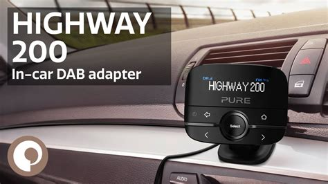 dab adapter auto highway 200 in car dab adapter