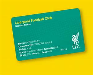 New Season ticket access cards announcement - Liverpool FC