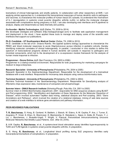 Sle Resume For Postdoctoral Position by Postdoctoral Fellowship Cv Sle Bestsellerbookdb 28 Images Cover Letter Postdoctoral