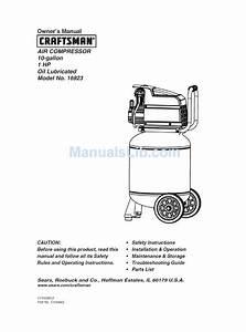 Craftsman 16923 Owner U0026 39 S Manual Pdf Download