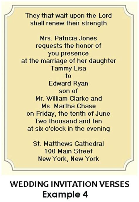 wedding invites wording christian wedding invitation wording
