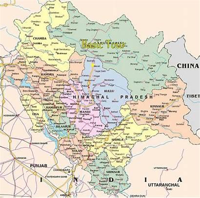 India Himachal Pradesh Map Ladakh River Leh
