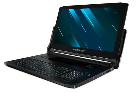 gaming laptop 2019 acer at ces 2019 predator triton gaming laptops with rtx gpus