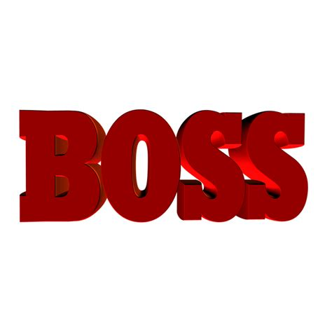 boss lettering employer  image  pixabay