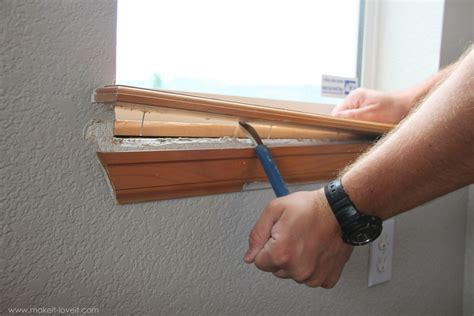 Trimming A Window (replacing Sill & Apron, Adding Side/top
