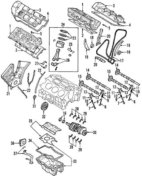 2004 Mazda 6 Engine Diagram by Parts 174 Mazda Mpv Engine Parts Oem Parts