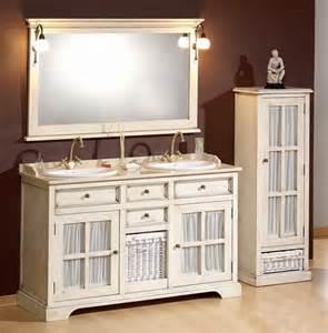 kommode fã r badezimmer antik weißer doppelwaschtisch im landhausstil mit vitrine in 13591 berlin bad einrichtung und