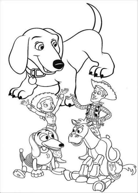 Coloring Toys by Story Coloring Pages 360coloringpages