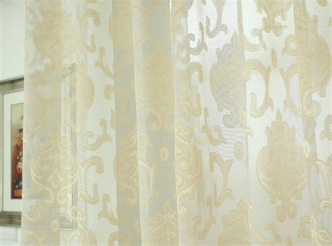(2.7m) European Finished Bedroom Window Curtain Voile Tulle Sheer Curtains For Living Room Standard Sizes Of Curtains Width Pink And White Striped Shower Curtain Plastic Rail For Bay Window Grey Mustard Uk Luxury Extra Long Dorm Room Blackout Ireland Hanging From Ceiling