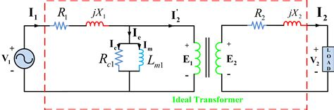 Transformer Equivalent Circuit Phasor Form Electrical