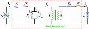 Equivalent Circuit Of Transformer Referred To Primary And Secondary Side