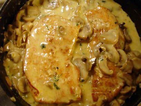 comment cuisiner des escalope de dinde recette d 39 escalope de dinde aux chignons de