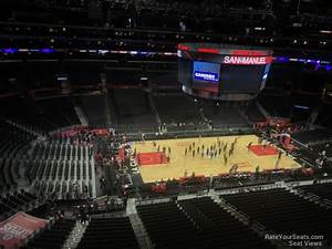 Staples Seating Chart Kings Staples Center Section 303 Clippers Lakers
