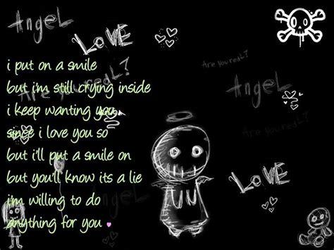 deep emo love quotes quotesgram