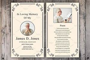 11 funeral memorial card designs templates psd ai With funeral remembrance cards template