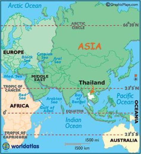 tailandia mapa de asia mapa de tailandia asia sur