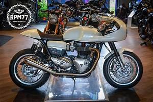 Triumph Pontault : une tr s belle thruxton by triumph rpm77 radmagazine ~ Gottalentnigeria.com Avis de Voitures
