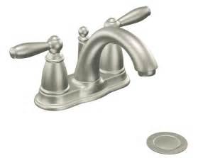 moen kitchen sink faucets moen 6610bn brantford two handle low arc centerset