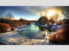 Beautiful Snow Scenes Wallpaper WallpaperSafari