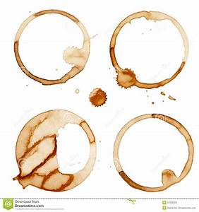 Coffee Stain Rings Vector Stock Vector - Image: 57202025