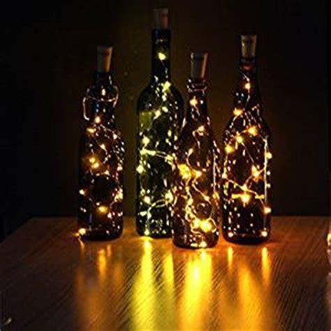 JOJOO Set of 6 Warm White Wine Bottle Cork LED Lights