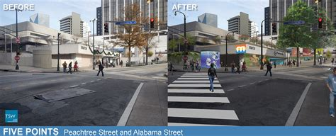points of light atlanta south downtown marta stations makeover