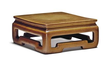 31675 gently used furniture admirable a low boxwood square stand 18th 19th century christie s