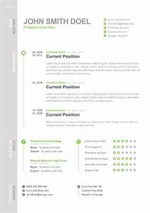 free digital cv resume psd template john smith doel With free digital resume