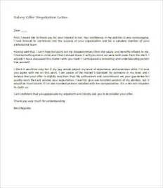 sample salary negotiation letter