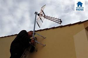 Tv Sans Antenne Exterieure : pose de l 39 antenne t l ma maison phenix ~ Dailycaller-alerts.com Idées de Décoration