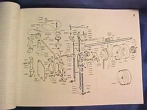 Elna Sewing Machine Parts Diagram