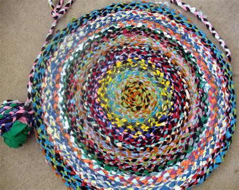 braided doormat mi scusi made braided rug from t shirt yarn