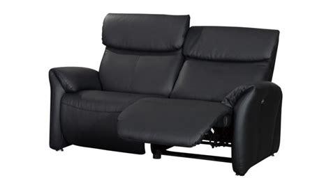 canapé deux places relax canapé relax confort 2 places xl tout cuir ohio mobilier