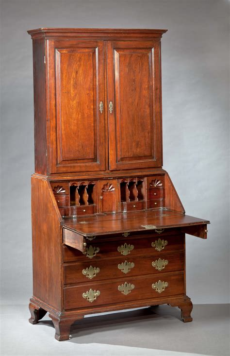 refacing kitchen cabinet chippendale bookcase with fan blocked interior 1801
