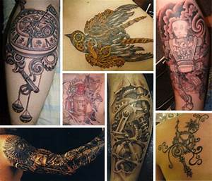Cogs and Ink: 28 Cool Steampunk Tattoo Designs that Wow ...